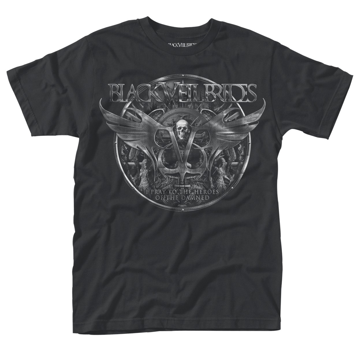 Black-Veil-Brides-Damned-NEW-MENS-T-SHIRT