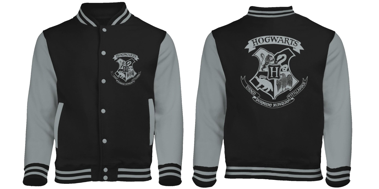 giacca Potter Crest Varsity Style nuova Hogwarts Baseball Harry RIzqwW77