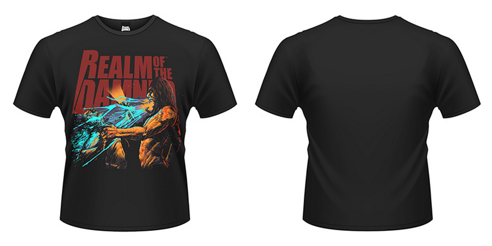 Realm-Of-The-Damned-Balaur-Scream-NEW-MENS-T-SHIRT